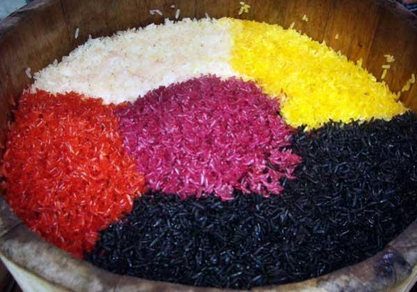 5 colour rice